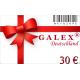 Geschenkgutschein 30€